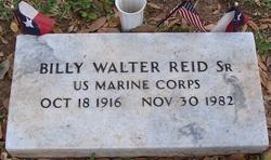 Billy Walter Reid, Sr