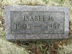Isabel H <i>Belcher</i> Morehouse