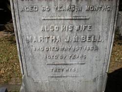 Martha Jemima Montgomery <i>Malcomson</i> Bell