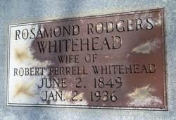 Rosamond <i>Rogers</i> Whitehead