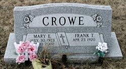 Mary E <i>Winebrenner</i> Crowe