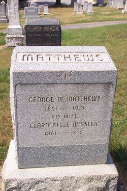 Clara Belle <i>Whisler</i> Matthews