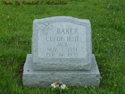 Clyde H Baker, II