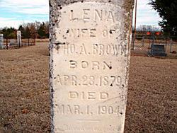 Ellena Lena <i>Birmingham</i> Brown