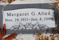 Margaret G Allen