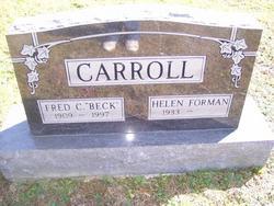 Helen <i>Forman</i> Carroll