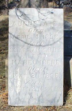 Augusta E. <i>Fogel</i> Hoag