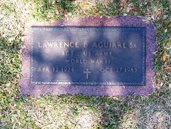 Sgt Lawrence Blanco Aguirre, Sr