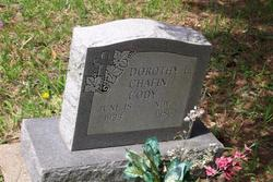 Dorothy L <i>Chafin</i> Cody