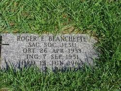 Fr Roger Elton Blanchette SJ