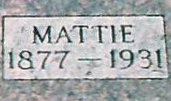 Mattie Leona <i>Scurlock</i> Brackney