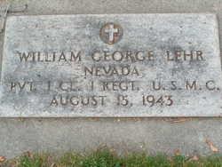 William George Lehr