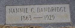 Nannie Fowler <i>Cathey</i> Dandridge