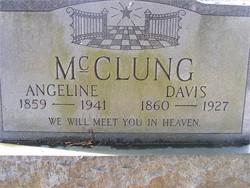 Angeline <i>McClung</i> McClung