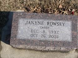 Jayne Candy <i>Carnes</i> Rowsey