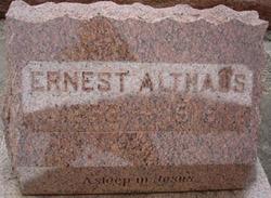 Ernst Althaus