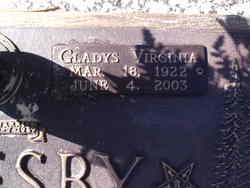 Gladys Virginia <i>Lewis</i> Oglesby