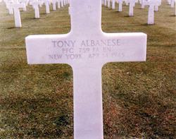 PFC Tony Albanese