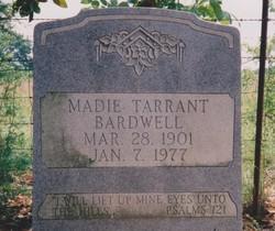 Madie <i>Tarrant</i> Bardwell