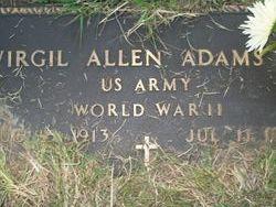 Virgil Allen Pee-wee Adams, Sr