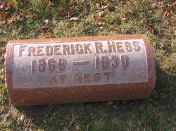 Frederick Robert Hess