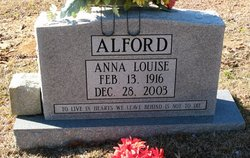 Anna Louise Alford