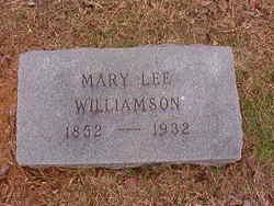 Mary Lee <i>Flowers</i> Williamson