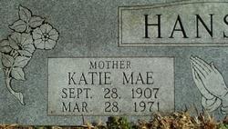 Katie Mae <i>Crocker</i> Hanson