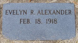 Evelyn Louise <i>Rogers</i> Alexander