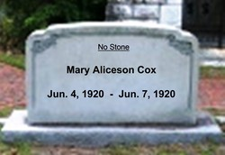 Mary Aliceson Cox