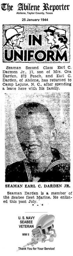 Earl Claude Darden, Jr