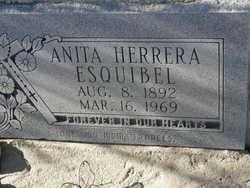 Anita <i>Herrera</i> Esquibel