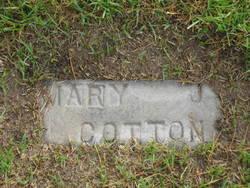 Mary Josephine <i>Cavins</i> Cotton