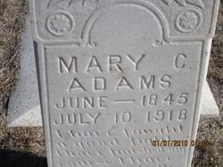 Mary Caroline Ruth <i>Smith</i> Adams