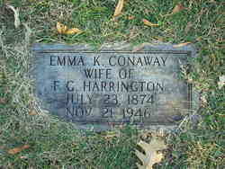 Emma Keturah <i>Conaway</i> Harrington