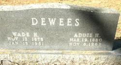 Samantha Adaline Addie <i>Heflin</i> Dewees