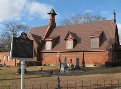 Holy Cross Cemetery Of Davidson Memorial Church