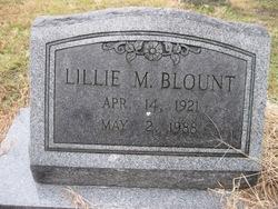 Lillie M. Blount
