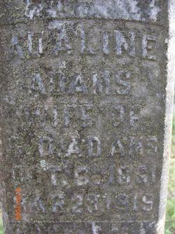 Mary Adeline <i>Keeling</i> Adams