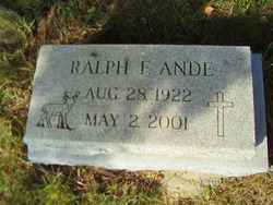 Ralph F. Ande