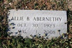 Allie Ann <i>Bowman</i> Abernethy