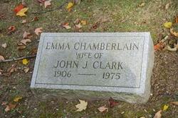 Emma C <i>Chamberlain</i> Clark