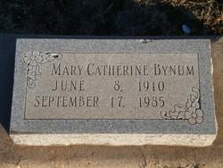 Mary Catherine <i>Adamson</i> Bynum