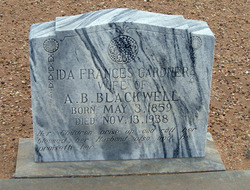 Ida Frances <i>Gardner</i> Blackwell