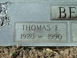 Thomas Franklin Bennett, Sr