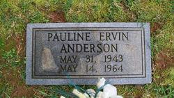Pauline <i>Ervin</i> Anderson