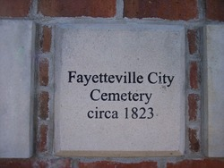 Fayetteville City Cemetery
