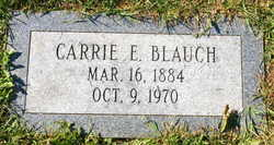 Carrie E <i>First</i> Blauch
