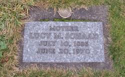 Lucy Margaret <i>Werth</i> Schaad
