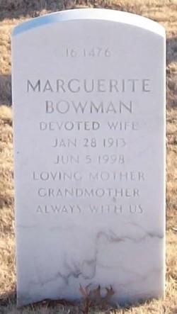 Marguerite Bowman